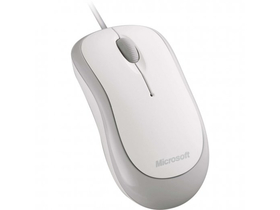 Mouse optic Microsoft Basic USB, alb (P58-00058)