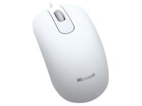 Microsoft Optical Mouse 200 Business USB, bela