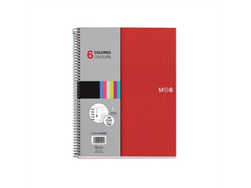 Тетрадка със спирала Miquelrius Note Book 6