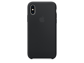 Husa silicon Apple iPhone XS (mrw72zm/a), black