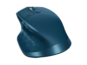 Mouse wireless Logitech MX Master 2S, albastru deschis