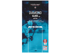 "Sticla securizata Myscreen DIAMOND GLASS EDGE 2,5D full glue pentru Apple iPhone X (5,8""), negru"