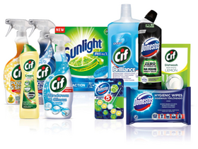 Cif, Domestos, Sunlight sada 10ks
