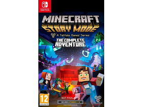 Minecraft Story Mode:The Complete Adventure Nintendo Switch játék