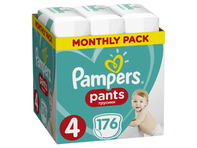 Pampers Pants bugyipelenka, Méret: 4, 176 db