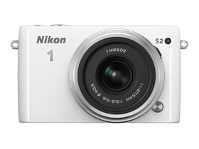 Nikon 1 S2 digitalni fotoaparat kit (11-27,5mm objektiv), bijeli