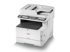Imprimanta multifunctionala color OKI MC363dn, laser LED, MFP NY/M/S/F
