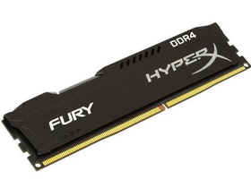 KINGSTON Memória HYPERX DDR4 8GB 2400MHz CL15 DIMM SR Fury Black