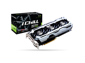 Placa video Inno3D PCI-E Nvidia GTX1060 iChill X3 (6144MB, DDR5, 192bit, 1556/8000Mhz, 2xDVI, DP, HDMI)