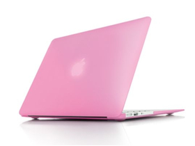"Toc Ozaki O!macworm TightSuit 0.9mm MacBook Air 11"", subțire și ușor, pink"
