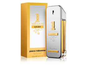 Paco Rabanne One Million Lucky für Herren , Eau De Toilette, 100ml