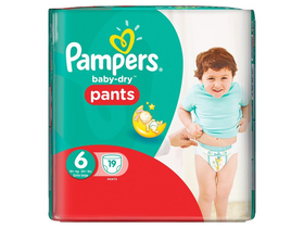 Scutece Pampers  Carry pack  6 19 buc.