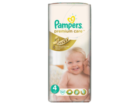 Scutece Pampers Premium Care 4 maxi 52 buc.