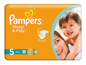 Scutece Pampers Sleep&Play 5 junior 42 buc.
