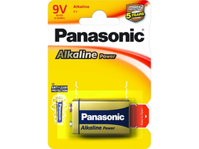 Panasonic Alkaline Power 6LR61APB-1BP 9V batéria