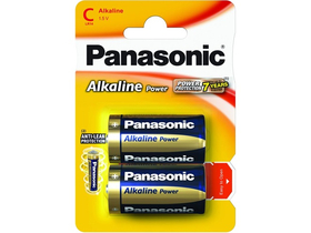 Panasonic Alkaline Power LR14APB-2BP C/baby 1.5V batéria (2ks)