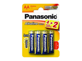 Panasonic Alkaline Power LR6APB-6BP4-2 AA batéria (6ks)