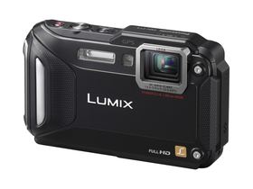 Panasonic DMC-FT5 digitalni fotoaparat, crni