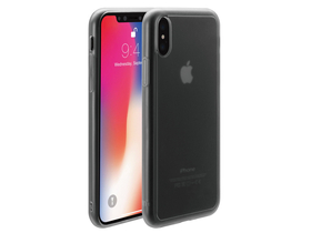 Husa Just Mobile pentru iPhone X, mat-transparent