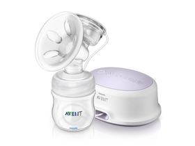 Pompa pentru san electrica Philips Avent SCF332/01 Comfort sticlă 125 ml Natural
