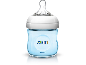 Шише за хранене Philips Avent  SCF692/17 125ml NATURAL, синьо