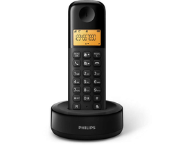 Telefon DECT wireless Philips D1301B/53, negru