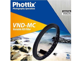 Phottix spremenljivi VND-MC filter 67 mm