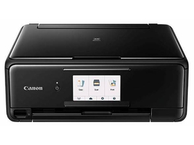 Canon PIXMA TS8150 Multifunktions-Tintenstrahldrucker mit Fax, WLAN (s/w)
