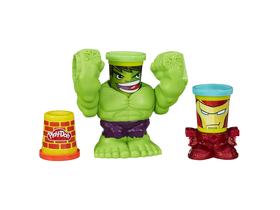 Play-Doh Hulk in Ironman set plastelina