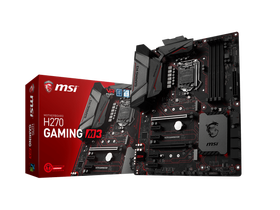 Дънна платка MSI  S1151 H270 GAMING M3 Intel H270, ATX
