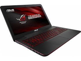 Asus ROG G551VW-FW290D notebook, fekete + McAfee Internet Security