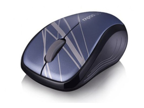 Mouse wireless Rapoo 3100p Mid Level  USB, albastru
