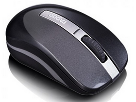 Mouse wireless dual-mode Rapoo 6610p Bluetooth, gri