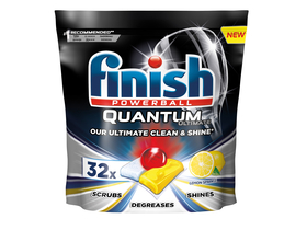 Finish Quantum Ultimate Lemon Geschirrspültabs, 32 Stk.