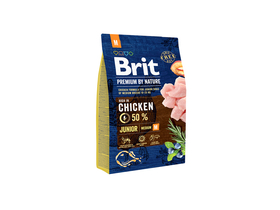 Brit Premium by Nature Junior M suha hrana za pse, 3kg