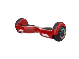 Elektrisches Hoverboard der 2Drive LED-Serie, rot