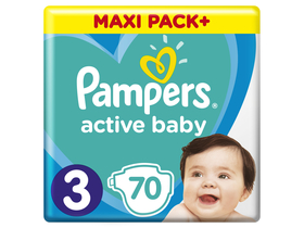 Active Baby Jumbo Pack Windel, Gr 3, 70 Stk.