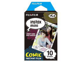 Fujifilm Colorfilm Instax Mini Glossy Film, Comic, 10 Stk.