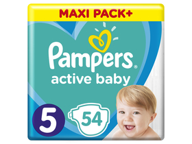 Pampers Active Baby Jumbo Pack Windel, Gr 5, 11-16 kg, 54 Stk.