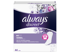 Always Discreet Normal inkontinenciabetét, 44db
