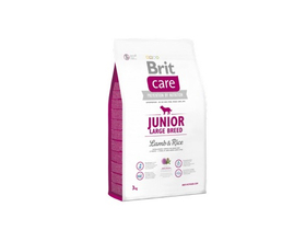 Brit Care Junior Large Breed száraz kutyaeledel, bárány/rizs, 3kg