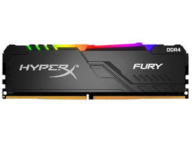 Kingston HX434C16FB3A/8 HyperX Fury DDR4 8GB 3466MHz CL16 DIMM 1Rx8 памет,  RGB