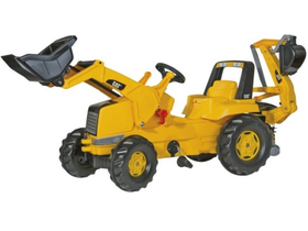 Rolly Junior CAT Radtraktor mit Bagger