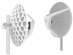 MikroTik LHGG-60ad 60GHz 802.11ad Wireless Wire Dish antena par