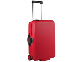 Samsonite Cabin Collection Upright 55 cm-es bőrönd, karmazsinvörös
