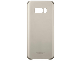 Samsung Galaxy S8+ Clear Cover zlati