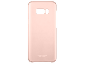 Samsung Galaxy S8+ Clear Cover roza barve