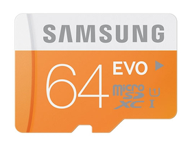 Samsung Secure Digital Micro 32GB SDHC EVO Class10, UHS-I Grade1 + SD adapter