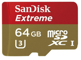 Карта памет SanDisk Secure Digital Micro 64GB SDHC Mobile Extreme + adapter, (90MB/s) UHS-1 + Rescue Pro Deluxe