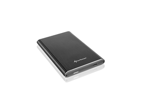 "Sharkoon Rapid-Case 2,5"" USB3.1 Type C HDD skriňa, čierna (4044951019380)"